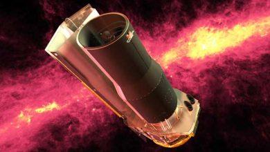 Représentation du télescope spatial Spitzer. Photo NASA