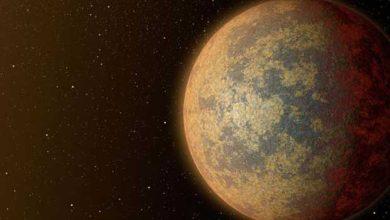L'exoplanète HD 219134b imaginée par un artiste. NASA/JPL-Caltech
