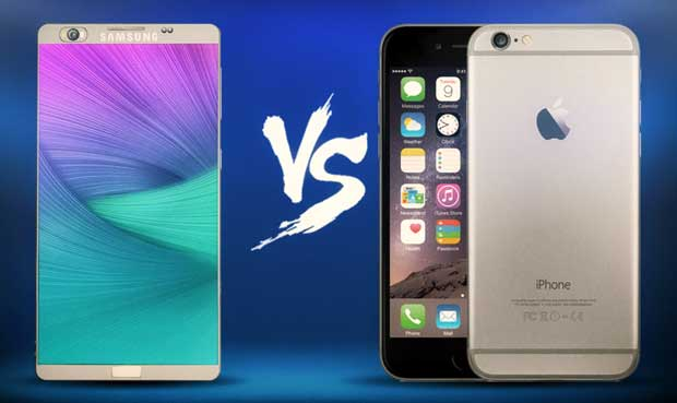 L'iPhone 6 plus rapide que le Galaxy Note 5 ?