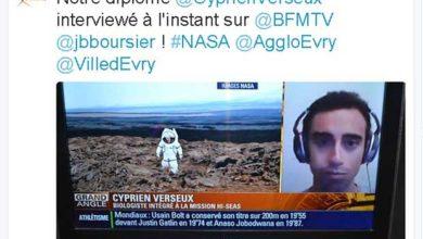 Cyprien Verseux fait partie des six sélectionnés pour la plus longue mission de simulation de vie sur Mars tentée par la Nasa.