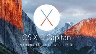 OS X El Capitan sera lancé le 30 septembre