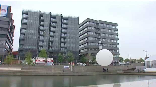 Lyon confluence : inauguration d'un îlot à énergie positive