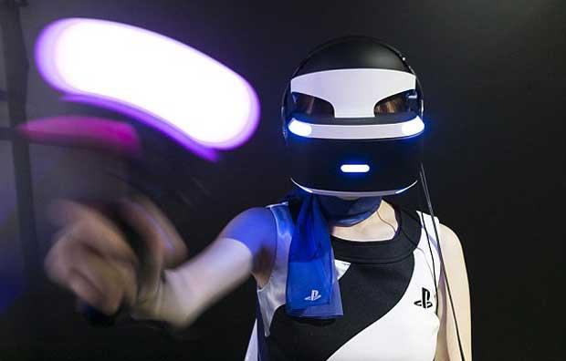 Le casque de réalité virtuelle de Sony baptisé PlayStation VR