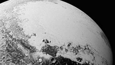 Pluton, vue le 14 juillet 2015 par la sonde New Horizons.
