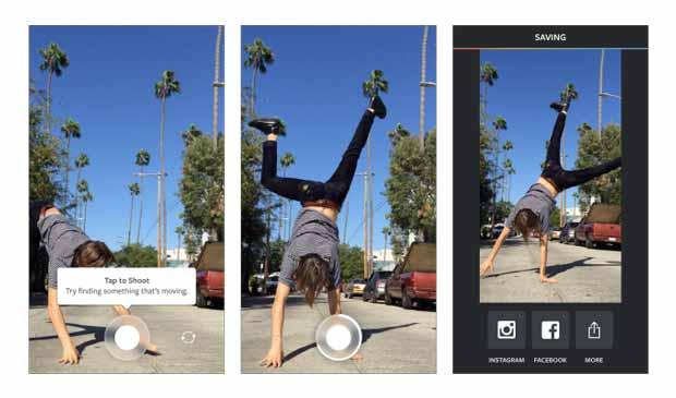Instagram lance l'application Boomerang