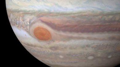 Image HD de Jupiter vue par le télescope spatial Hubble.
