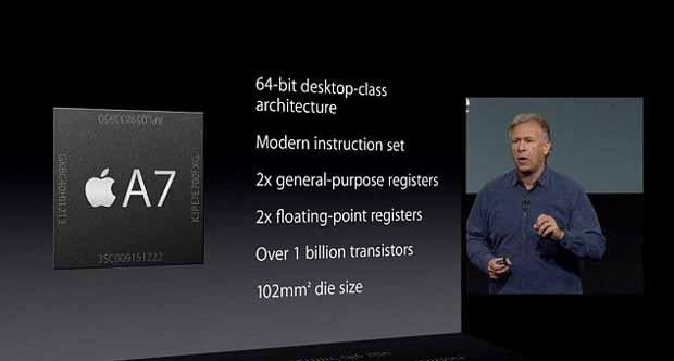 Dans son bras de fer contre Apple, l'Université du Wisconsin a remporté sa bataille judiciaire contre la marque à la pomme au sujet du processeur A7. (Phil Schiller en 2013)