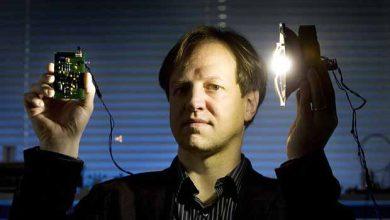 Le Pr Harald Haas, l'inventeur du Li-FI