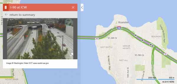 35 000 nouvelles caméras de trafic sont ajoutées à Bing Maps