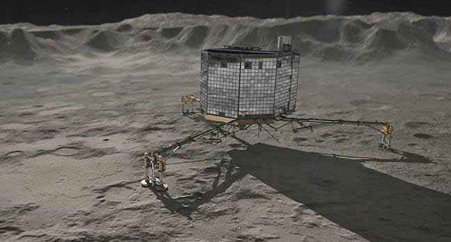 Pour commémorer son arrivée historique, l'ESA publie une vidéo retraçant l'atterrissage chaotique de Philae