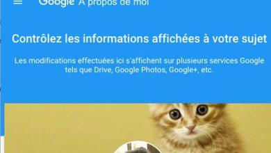 Google présente A Propos, un nouveau profil pour gérer ses informations personnelles