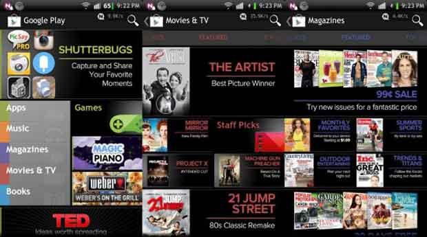 Google Play : les séries débarquent en France !