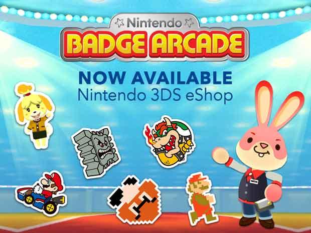 Nintendo Badge Arcade arrive en Europe