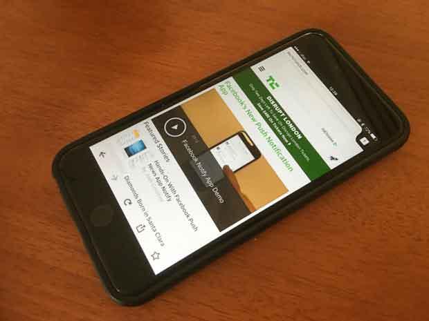 Firefox disponible au téléchargement sur iOS