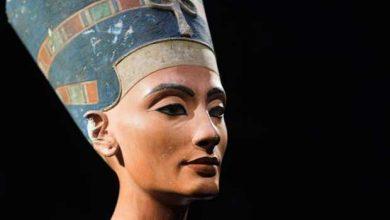 Le buste de Néfertiti à Berlin