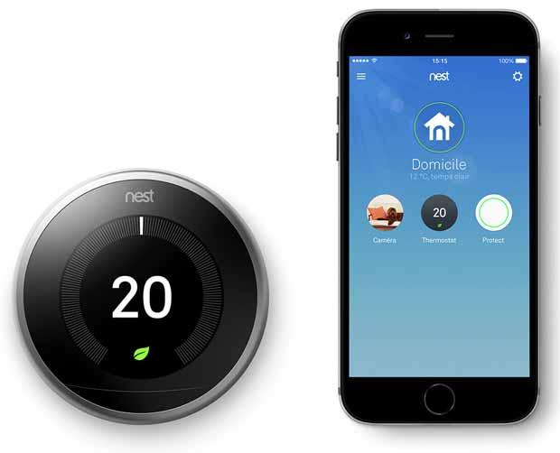 Nest dévoile un nouveau thermostat connecté