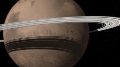 La planète Mars pourrait gagner un anneau et perdre une lune