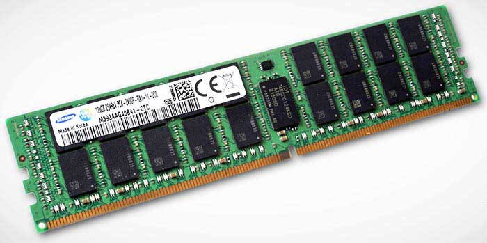 Samsung lance la production de RAM à 128 Go