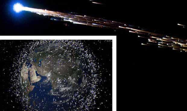 Un ovni s'est écrasé sur la Terre