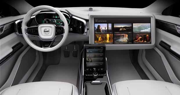 Salon de Los Angeles 2015 : le Volvo Concept 26 fait son cinéma