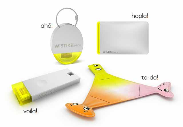 Wistiki présente une gamme d'objets connectés conçus avec Philippe Starck