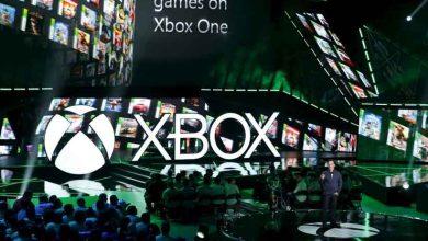 Phil Spencer, le responsable de la Xbox, lors de l'annonce de la rétrocompatibilité des jeux Xbox 360 sur la Xbox One lors de l'E3 de Los Angeles en juin 2015.