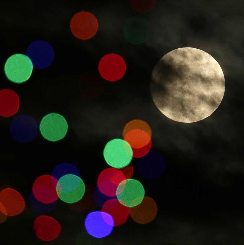 La prochaine pleine Lune à Noël est prévue dans 19 ans. Ici au Kansas.