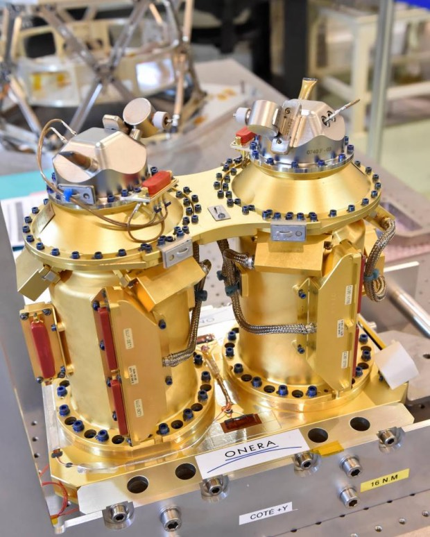 Un microsatellite made in Europe