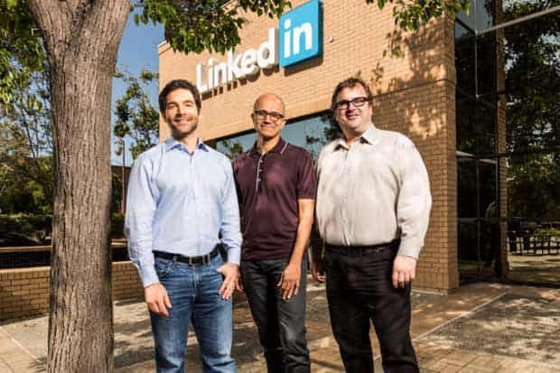 Microsoft fait sa plus importante acquisition en rachetant LinkedIn