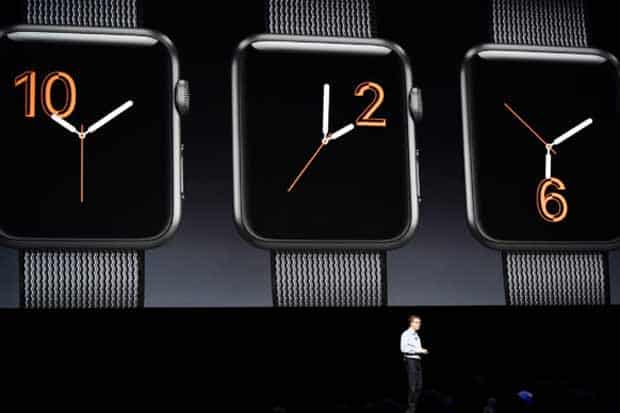 WatchOS 3 débarque sur l'Apple Watch