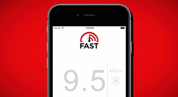 iOS et Android ont désormais droit à l'application Fast Speed Test de Netflix