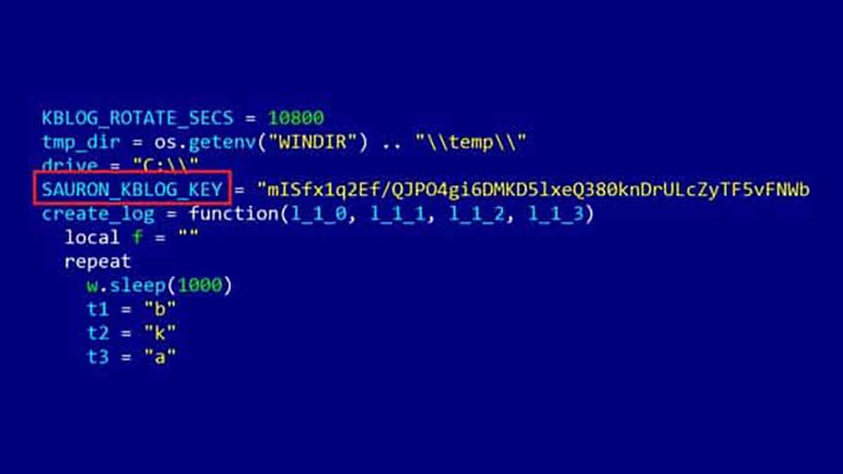 Qui se cache derrière Sauron, un logiciel malveillant qui espionne les gouvernements dans le monde?