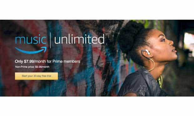 Avec Amazon Music Unlimited, Amazon est très agressif en matière de streaming musical