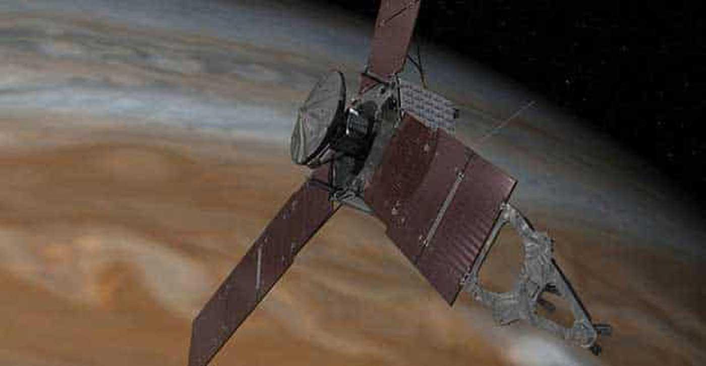Après quelques soucis, la sonde Juno est à nouveau pleinement opérationnelle