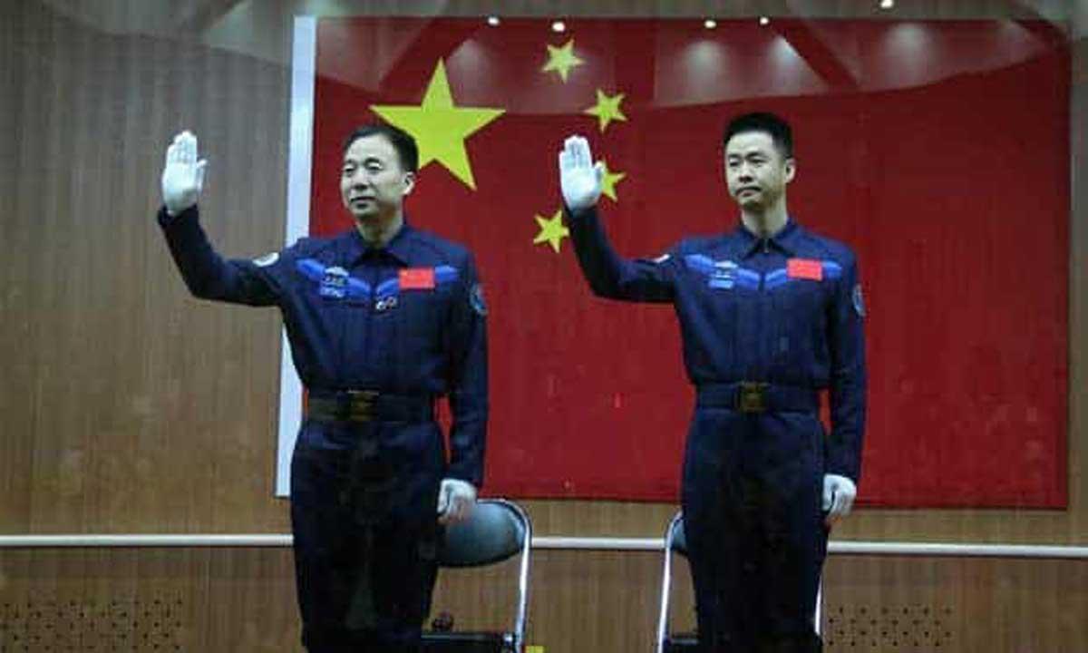 Deux taïkonautes chinois sont dans l'espace pour une mission de 30 jours