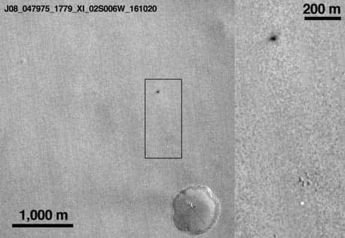 Pourquoi l'atterrisseur Schiaparelli s'est-il écrasé sur Mars? L'ESA cherche des réponses