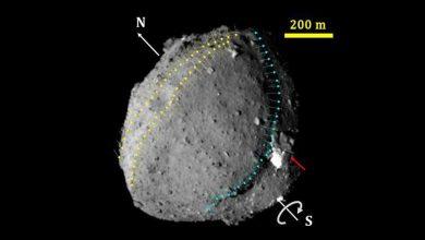 La sonde Hayabusa-2 a déployé un petit impacteur de cabine (SCI), un dispositif rempli d'explosif plastique, destiné à faire sauter un cratère artificiel dans l'astéroïde Ryugu.