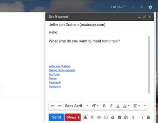 L'assistant intelligent de Google dans Gmail