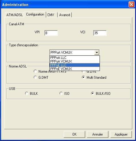 Astuce simple pour configurer Sagem fast 800-840