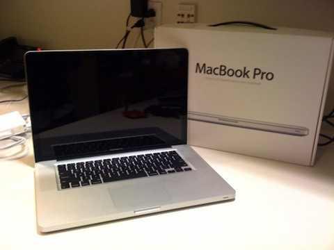 nouveaux macbook pro