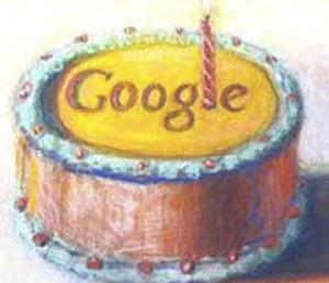 12ème anniversaire Google