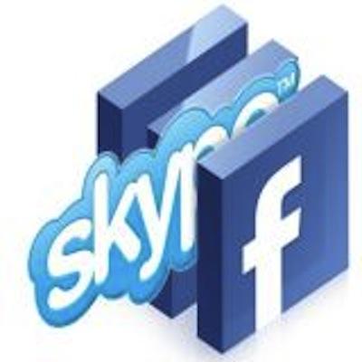 Facebook et skype Partenariat
