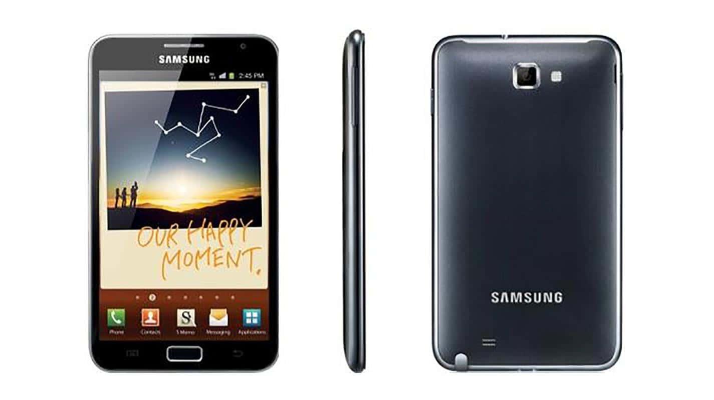 Samsung Galaxy Note : il trouve son marché
