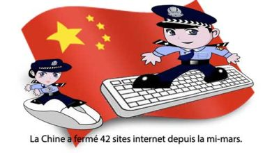 Photo de Censure : 42 sites fermés en Chine