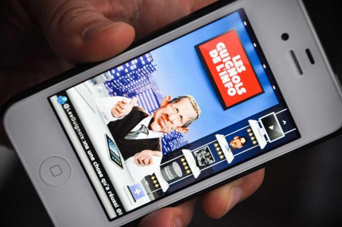 iPhone les guignols de l'info