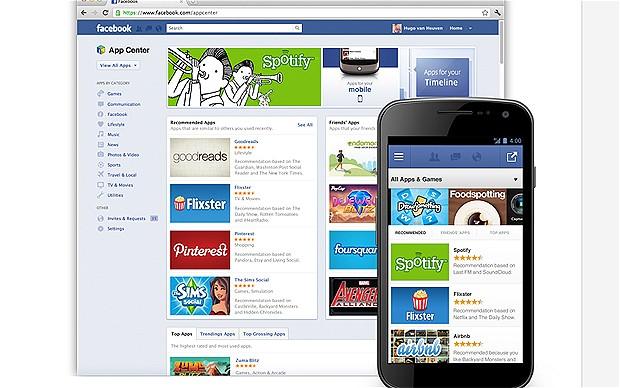 facebook ouverture prochaine de son app store