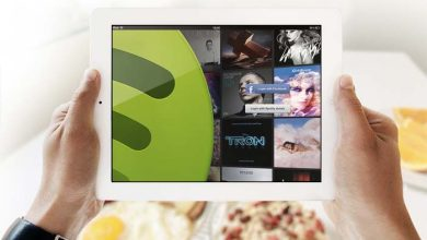 Photo de iPad : Spotify est disponible sur l'App Store