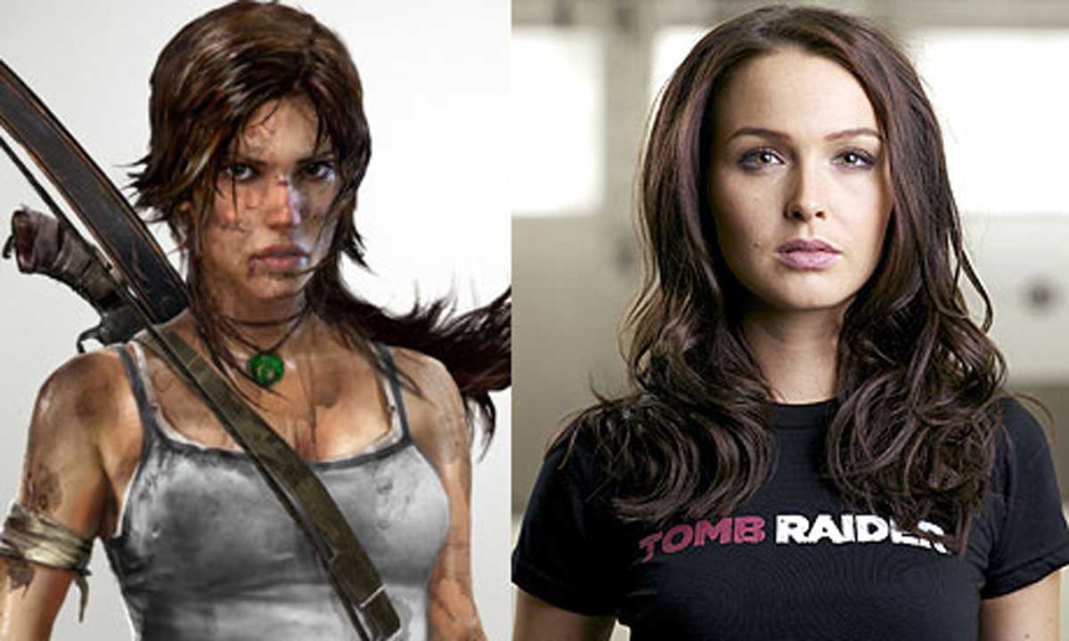 Tomb Raider la sexy Camilla Luddington