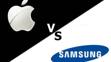 Apple vs samsung bourse
