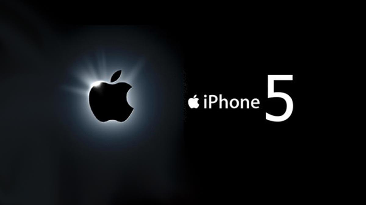 iphone 5 logo apple